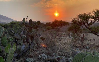Sonnenuntergang Mexico